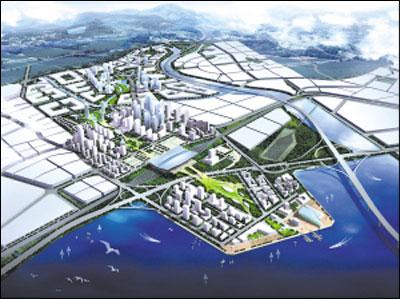 距离流亭国际机场13公里,是区域的重要交通枢纽,也是进出青岛市的重要