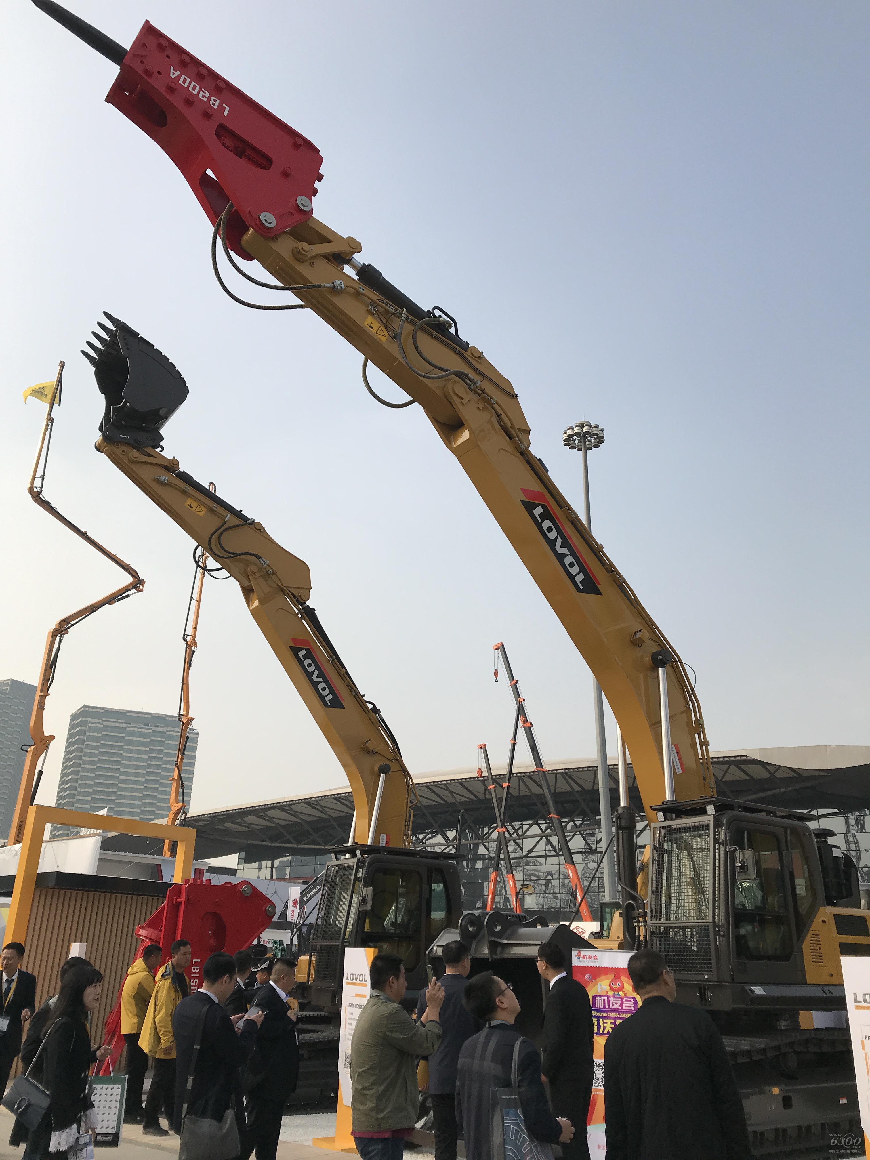 雷沃FR510E-HD重载挖掘机等产品