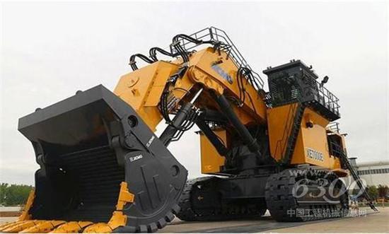 中国首台700吨级挖掘机