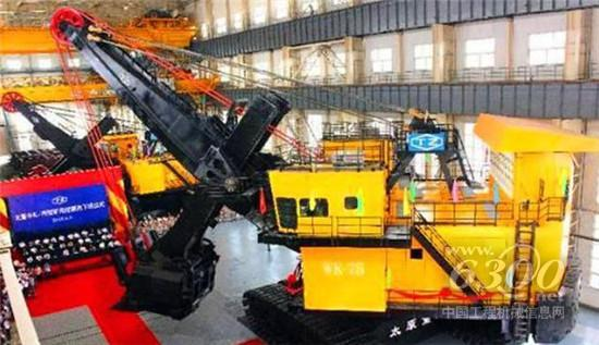 中国制造的全球最大挖掘机
