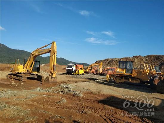 柳工设备菲律宾矿区显风采