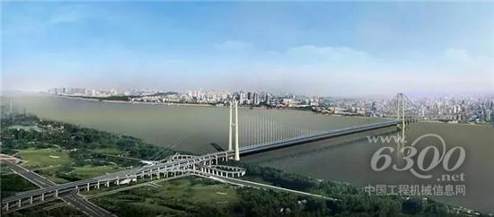 世界泵王扬威「全球最大」跨度双层公路悬索桥