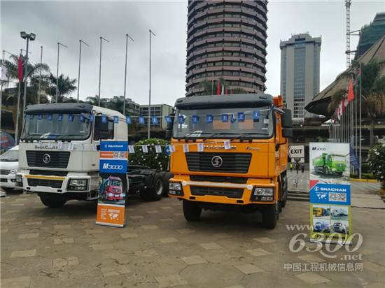 SHACMAN 闪耀亮相2019肯尼亚中国贸易周