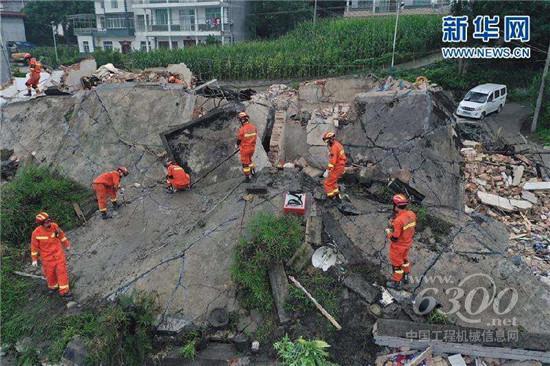 山东临工积极参与长宁地震救援