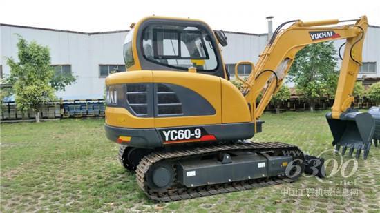 玉柴YC60-9新款yabovip42首次出口澳大利亚