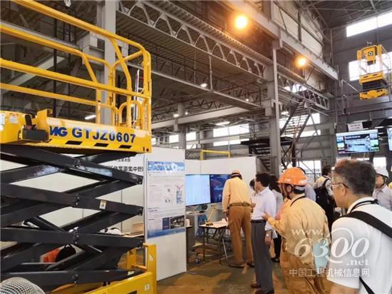 徐工高空作业平台登陆日本市场