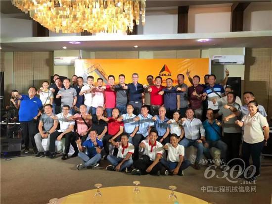 临工品牌日暨临工小挖上市活动在菲律宾成功举办