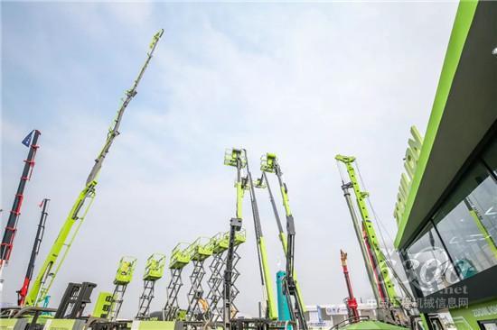 中联重科高空作业机械北京展发布新品