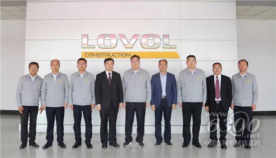 中国工程机械协会/桩工协会领导参观工厂