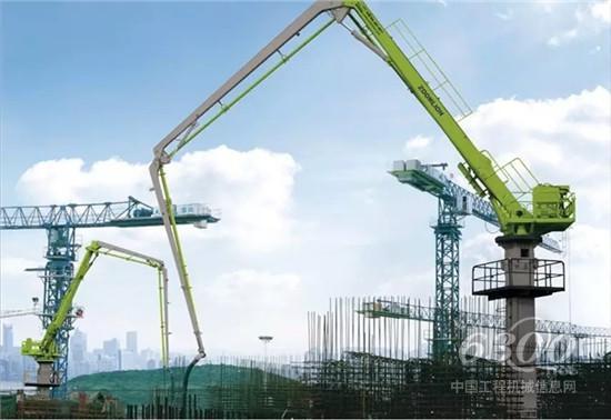 """中联重科澳洲""""本地化""""36米混凝土布料机下线 获海外市场欢迎"""
