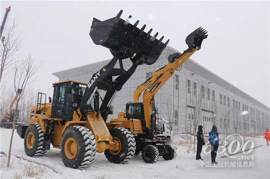 新疆地震应急大演练,三一高端装备显身手