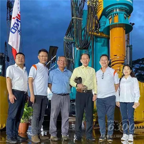 山河智能在新加坡举办新品发布会