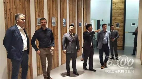 利勃海尔集团领导莅临重庆盛世掘金公司检查指导工作