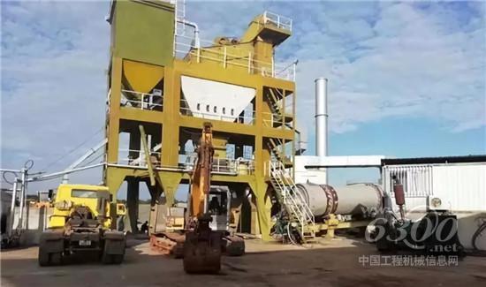 国内首台大型沥青拌合站在这里诞生_大修发动机