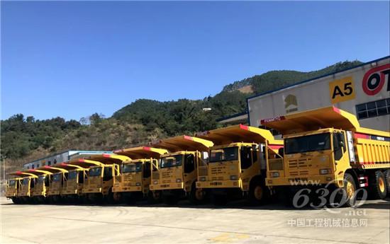 玉柴13L重型发动机批量出口越南