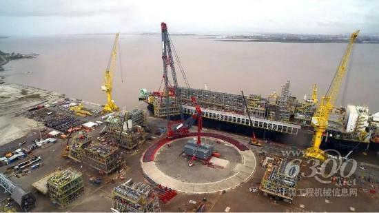 全球吊装老大和老三正式合体,组成目前世界最强重型装备舰队_新宝来发动机