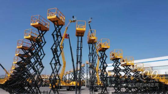柳工全新剪叉式升降机产品登陆美国市场