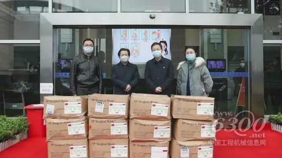 中联重科捐赠5万余只医用口罩 助力长沙高新区防疫防控 沛县人才网