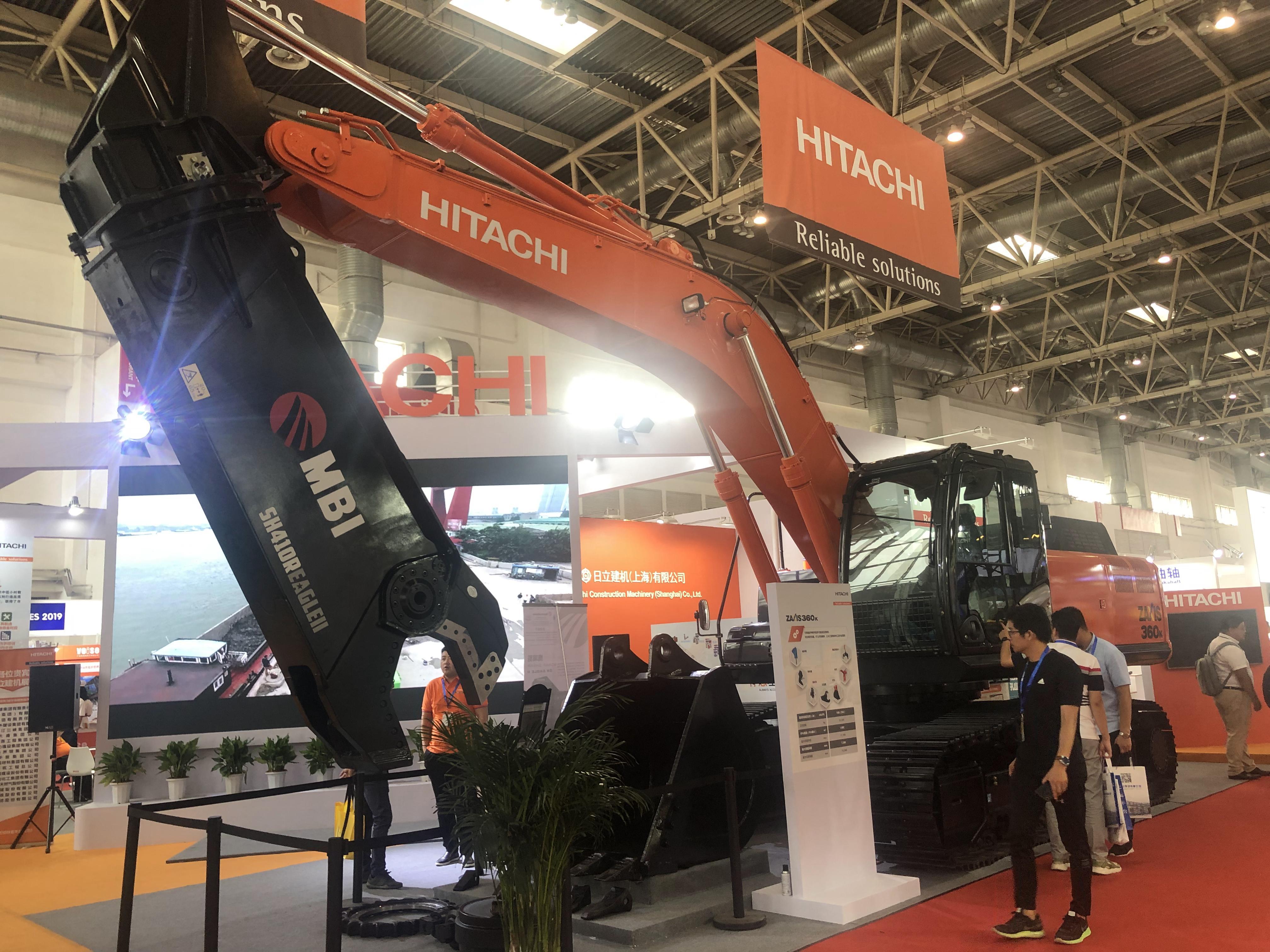 第15届BICES2019北京展展位风采:日立建机株式会社