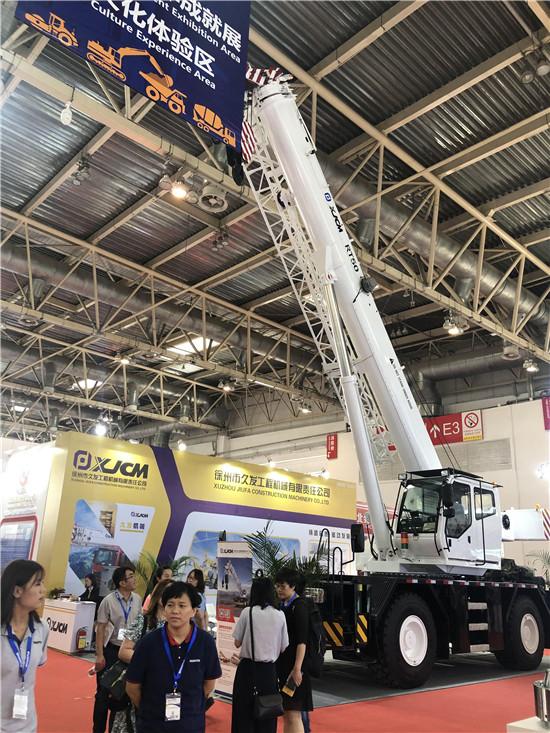 第15届BICES2019北京展展位风采:徐州市久发工程机械有限公司