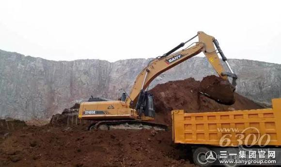 三一SY485H挖掘机 一年能省出一台小轿车图片