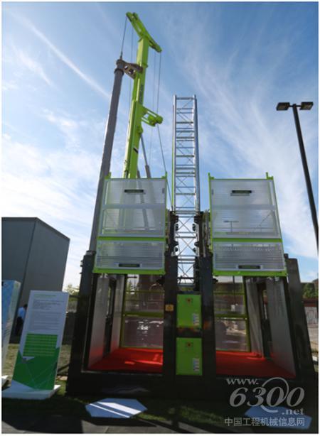 中联重科安全环保的施工升降机