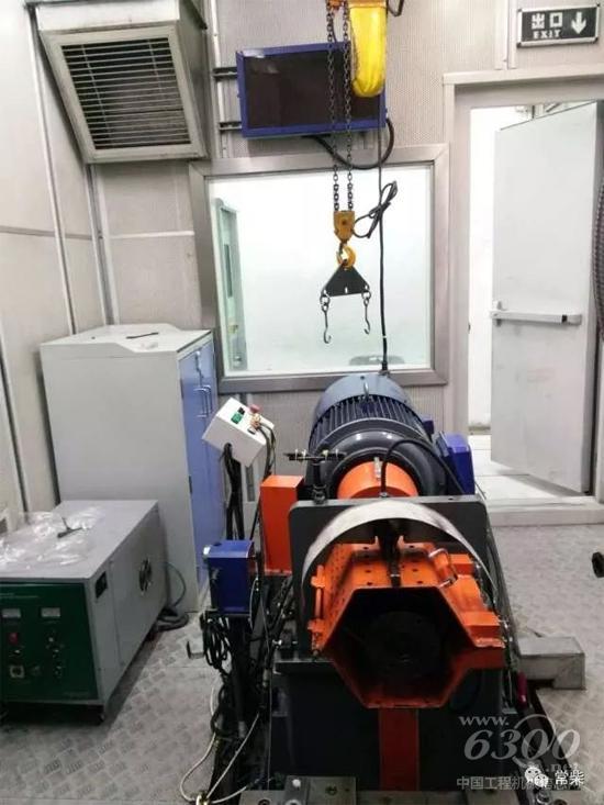 新安装的轻型发动机生产线试车间交流电力测功器