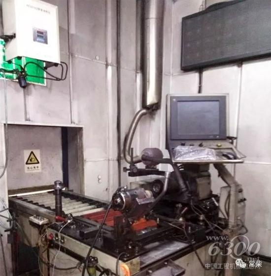 改造后的F系列风冷柴油机在线一体化台架