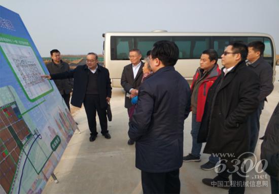 何清华董事长实地考察安阳航空产业园区
