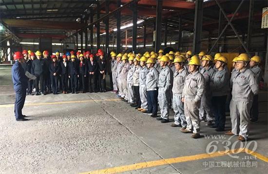 生产营运总监高国强召开开工动员大会