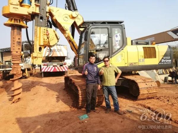 KR125M钻机获客户点赞