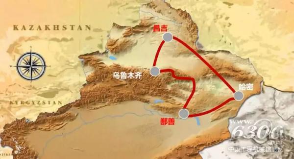 2018年环塔路线图