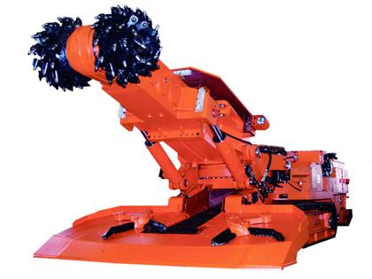 > 参数  技术参数 性能特点 结构特点 施工案例 ebh200型掘进机截割部