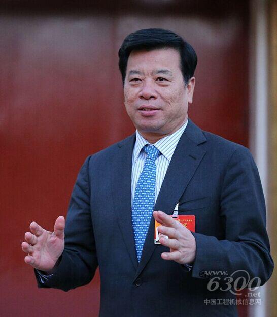 中联重科重机公司总经理王金富-关注两会热点 工程机械声音值得点赞