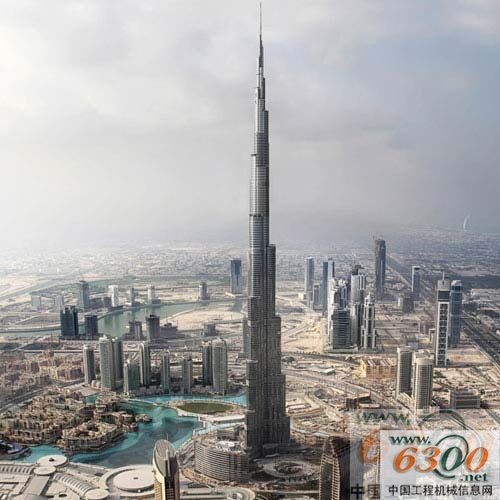 迪拜塔内部结构图片