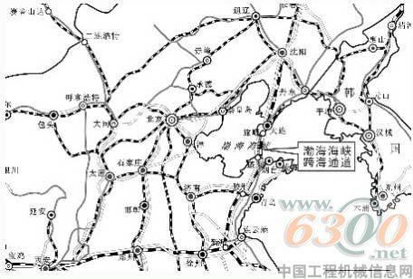 渤海海峡跨海通道工程启动