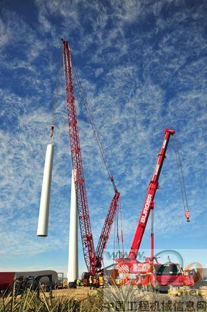 施工工法类似风电塔筒安装