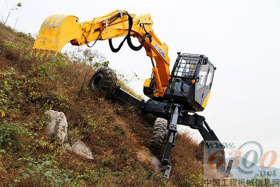 et110步履式挖掘机图片
