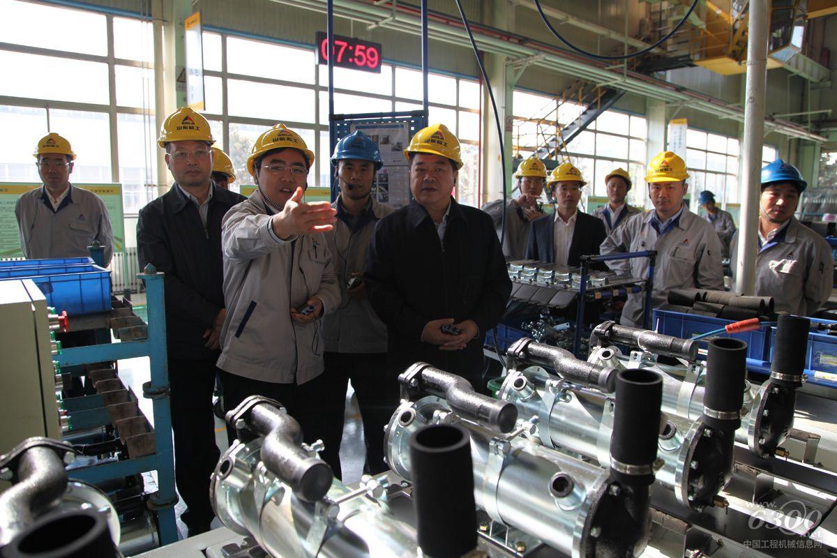 中国国机集团副总裁刘大功一行到访临工