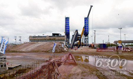中联重科搅拌站设备积极投身巴西港区大建设