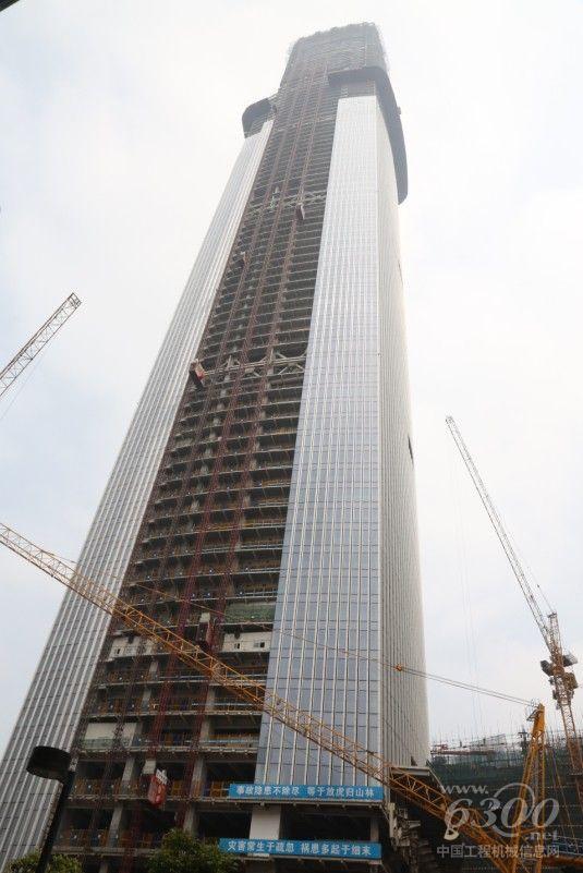 华三行助力广州东塔,450米超西塔