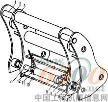 其可利用行程短,加工时难以保证同轴度;有的快换装置采用浮动式液压缸图片